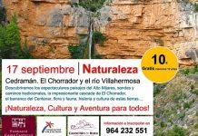 Cedramán El Chorrador y el río Villahermosa CASTELLON EN RUTA COMUNIDAD VALENCIANA